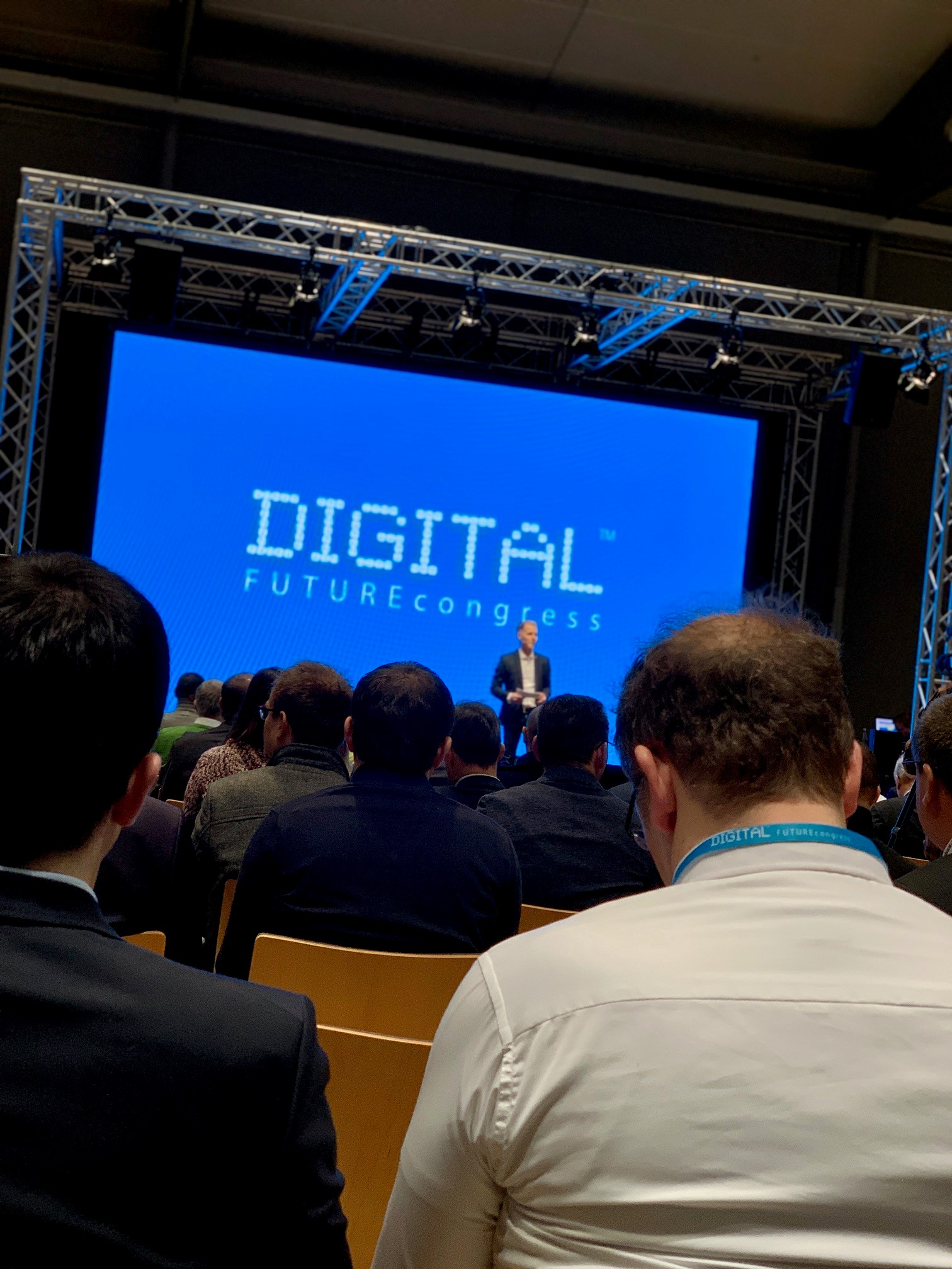 VISUALYS auf dem DIGITAL FUTUREcongress in Frankfurt